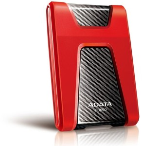 "ADATA HD650 1TB 2.5"" USB3.0 RED AHD650-1TU3-CRD"