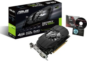 ASUS GEFORCE® GTX 1050 Ti 4096/128 DDR5 PH-GTX1050TI-4G KARTA GRAFICZNA