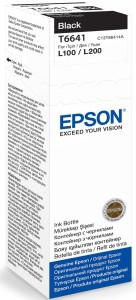 EPSON T6641 70ML BLACK TUSZ
