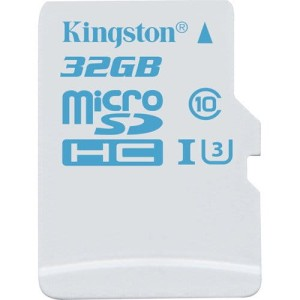 KINGSTON 32GB microsSD CL10 UHS-I U3 SDCAC/32GB