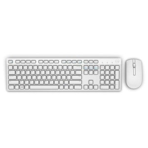 DELL KM636 WHITE WIRELESS KLAWIATURA+MYSZ