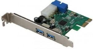 I-TEC PCIE CARD USB3.0 2*EXTERNAL+INTERNAL 20PIN