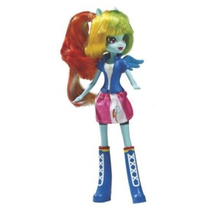 HASBRO MY LITTLE PONY EQUESTRIA A9258 RAINBOW DASH