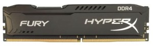 KINGSTON HYPERX FURY DDR4 DIMM 4GB 2400MHz HX424C15FB/4 PAMIĘĆ RAM