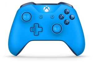 MICROSOFT XBOX ONE S WIRELESS CONTROLLER BLUE WL3-00020 PAD