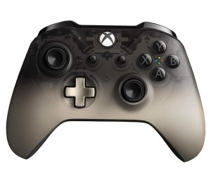 MICROSOFT XBOX ONE S WIRELESS CONTROLLER PHANTOM BLACK WL3-00101 PAD