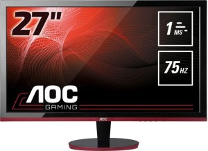 "AOC G2778VQ TN fullHD 27"" 75Hz Flicker Free LED MONITOR"