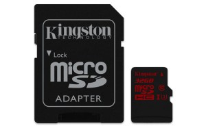 KINGSTON 32GB microSDHC UHS-I U3 SDCA3/32GB