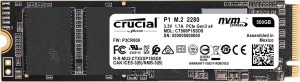 CRUCIAL P1 500GB M.2 PCIe NVMe 3D NAND CT500P1SSD8 DYSK SSD