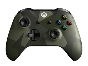 MICROSOFT XBOX ONE CONTROLLER WIRELESS SE ARMED FORCES II WL3-00096 PAD