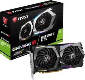 MSI GEFORCE GTX 1660 Ti 6144/192 DDR6 GTX 1660 Ti GAMING X 6G KARTA GRAFICZNA