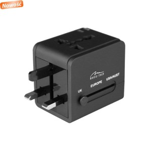 MEDIATECH MT6208 GLOBAL TRAVELLER DUAL USB CHARGER