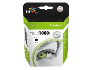 TB PRINT TBB-LC1000B BROTHER LC1000 BLACK TUSZ