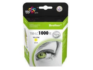 TB PRINT TBB-LC1000YE BROTHER LC1000 YELLOW TUSZ
