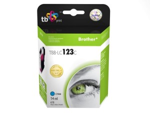 TB PRINT TBB-LC123B BROTHER LC123 BLACK TUSZ