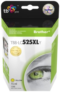 TB PRINT TBB-LC525XLY BROTHER YELLOW TUSZ