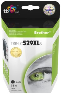 TB PRINT TBB-LC529XLB BROTHER BLACK TUSZ