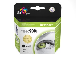 TB PRINT TBB-LC900B BROTHER LC900 BLACK TUSZ