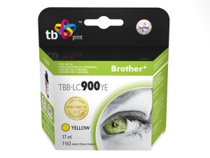 TB PRINT TBB-LC900YE BROTHER LC900 YELLOW TUSZ
