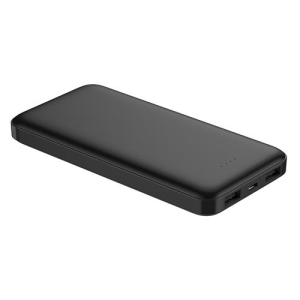 PLATINET 10000mAh POLYMER POWER BANK LCD BLACK + KABEL microUSB 44817