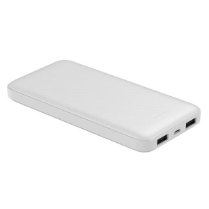 PLATINET 10000mAh POLYMER POWER BANK WHITE + KABEL microUSB 44816