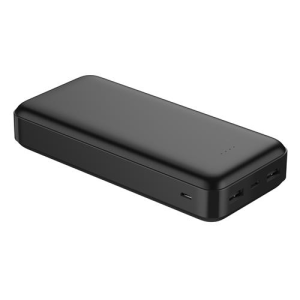 PLATINET 20000mAh POLYMER POWER BANK BLACK + KABEL microUSB 44814