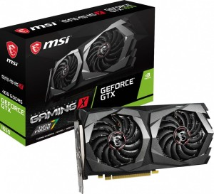 MSI GEFORCE GTX1650 4096/128 DDR6 GTX 1650 SUPER GAMING X