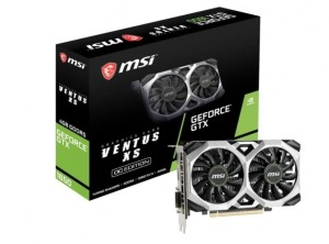 MSI GEFORCE GTX1650 SUPER 4096/128 DDR6 GTX 1650 SUPER VENTUS XS OC