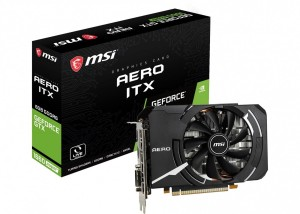 MSI GEFORCE GTX1660 SUPER 6144/192 DDR6 GTX 1660 SUPER AERO ITX OC