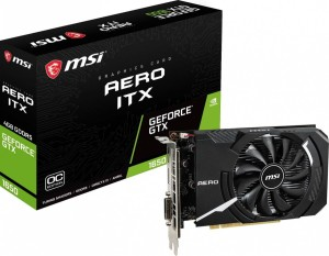 MSI GEFORCE GTX1650 SUPER 4096/128 DDR6 GTX 1650 SUPER AERO ITX OC