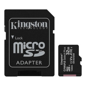 KINGSTON CANVAS SELECT PLUS 32GB microSD+ADPATER