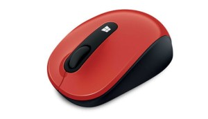 MICROSOFT SCULPT MOBILE FLAME RED 43U-00023