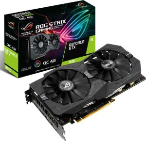 ASUS GEFORCE GTX1650S 4GB/128 DDR6 ROG STRIX O4G