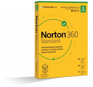 NORTON 360 STANDARD 10GB 1U/1Y 21408666