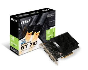 MSI GEFORCE GT710 2GB/64 DDR3 GT 710 2GD3H H2D