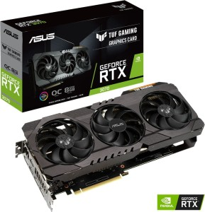 ASUS RTX3070 8GB/256 DDR6 TUF-RTX3070-O8G-GAMING