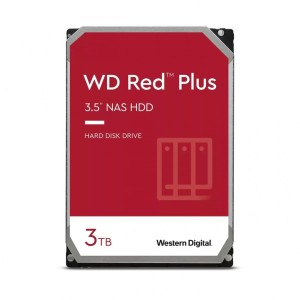"WD RED PLUS 3TB 128MB DYSK SATA 3,5"" WD30EFZX"