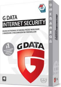 G DATA INTERNET SECURITY 3PC 1ROK BOX