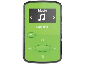 SANDISK CLIP JAM MP3 8GB GREEN SDMX26-008G-G46G
