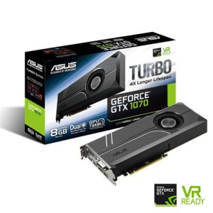 ASUS GEFORCE® GTX 1070 8192/256 DDR5 TURBO-GTX1070-8G VGA