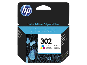 HP 302 F6U65AE COLOR TUSZ