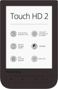 POCKETBOOK TOUCH HD 2 DARK BROWN PB631-2-X-WW