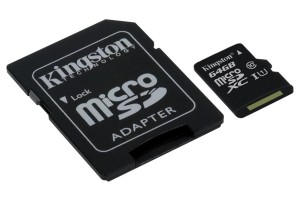 KINGSTON SDC10G2/64GB MICRO SDHC CLASS10