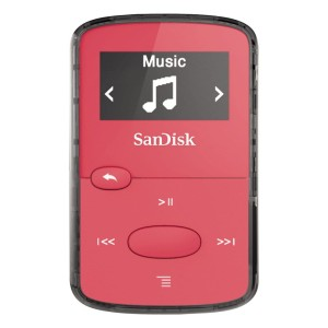 SANDISK CLIP JAM MP3 8GB RED SDMX26-008G-G46R