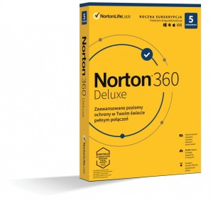 NORTON 360 DELUX 50GB 1Y 5U 21408667