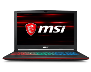 "MSI GP63 LEOPARD 8RE-403XPL I7-8750H/8GB/1TB/GTX1060-6GB/DOS 15.6"" LAPTOP/NOTEBOOK"