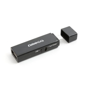 OMEGA CARD READER+PORT USB 41808