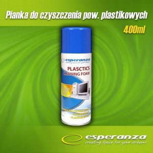ESPERANZA ES104 PIANKA DO PLASTIKU 400ML