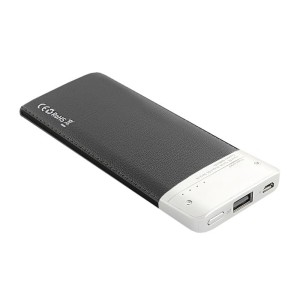 QOLTEC 6000mAh POWER BANK BLACK 51997