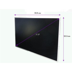LED 17,3 cala 1600*900 GLOSSY - 40 Pin